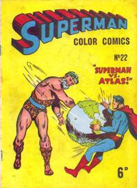 Cover Thumbnail for Superman (K. G. Murray, 1947 series) #22