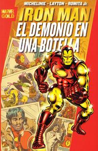 Cover Thumbnail for Marvel Gold: Iron Man: El Demonio En Una Botella (Panini España, 2010 series)
