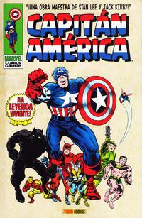 Cover Thumbnail for Marvel Gold. Capitán América (Panini España, 2011 series) #1 - La leyenda Viviente