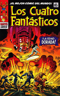 Cover Thumbnail for Marvel Gold. Los 4 Fantásticos (Panini España, 2011 series) #1 [3] - La Edad Dorada