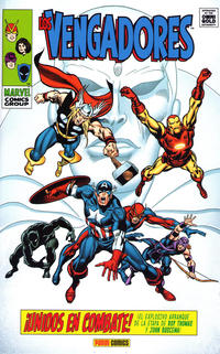 Cover Thumbnail for Marvel Gold. Los Vengadores: ¡Unidos en Combate! (Panini España, 2012 series)