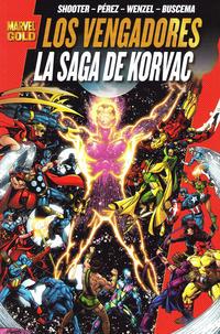 Cover Thumbnail for Marvel Gold: Los Vengadores - La Saga de Korvac (Panini España, 2010 series)