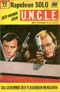 Cover Thumbnail for Napoleon Solo - Der Mann von U.N.C.L.E. (Semic, 1967 series) #8