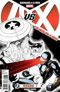 Cover Thumbnail for Avengers vs. X-Men (Marvel, 2012 series) #1 [Team X-Men Variant Cover by Ryan Stegman]