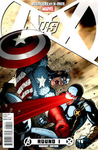 Cover Thumbnail for Avengers vs. X-Men (Marvel, 2012 series) #1 [Variant Cover by Ryan Stegman]