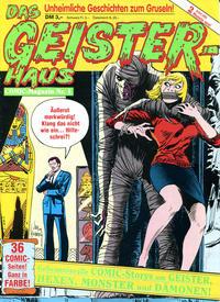 Cover Thumbnail for Das Geisterhaus (Condor, 1989 series) #1