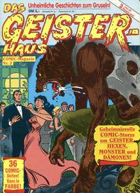 Cover Thumbnail for Das Geisterhaus (Condor, 1989 series) #2