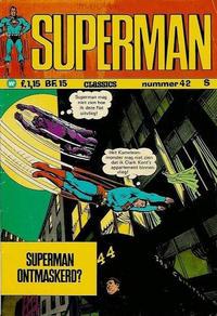 Cover Thumbnail for Superman Classics (Classics/Williams, 1971 series) #42