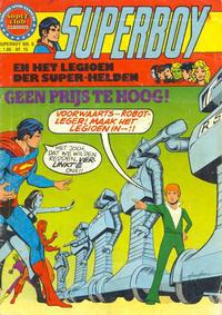 Cover Thumbnail for Superboy en het Legioen der Super-Helden (Classics/Williams, 1975 series) #6