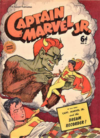 Cover for Captain Marvel Jr. (Cleland, 1947 series) #9