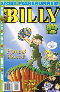 Cover Thumbnail for Billy (Hjemmet / Egmont, 1998 series) #7/2012