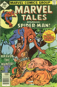 Cover for Marvel Tales (Marvel, 1966 series) #83 [35¢ Price Variant]