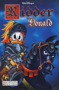 Cover Thumbnail for Donald Duck Tema pocket; Walt Disney's Tema pocket (Hjemmet / Egmont, 1997 series) #[49] - Ridder Donald