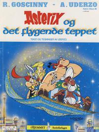 Cover Thumbnail for Asterix (Hjemmet / Egmont, 1969 series) #28 - Asterix og det flygende teppet [2. opplag]