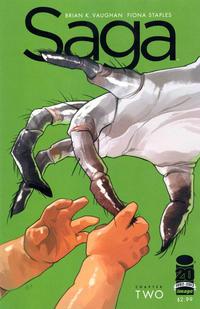 Cover Thumbnail for Saga (Image, 2012 series) #2