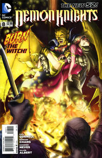 Cover Thumbnail for Demon Knights (DC, 2011 series) #8