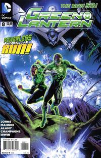 Cover Thumbnail for Green Lantern (DC, 2011 series) #8 [Doug Mahnke Cover]