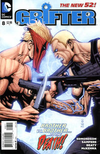 Cover Thumbnail for Grifter (DC, 2011 series) #8