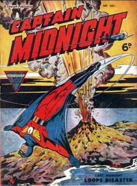 Cover Thumbnail for Captain Midnight (L. Miller & Son, 1950 series) #101