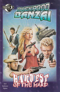 Cover Thumbnail for Buckaroo Banzai Hardest of the Hard (Moonstone, 2010 series) #1 [Cover A]