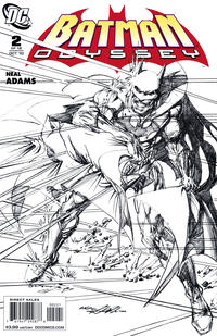 Cover Thumbnail for Batman: Odyssey (DC, 2010 series) #2 [Sketch cover]