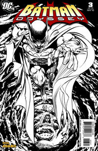 Cover Thumbnail for Batman: Odyssey (DC, 2010 series) #3 [Sketch cover]