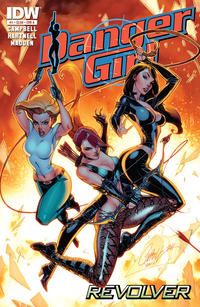 Cover Thumbnail for Danger Girl: Revolver (IDW, 2012 series) #1 [Cover A]