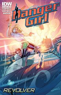 Cover Thumbnail for Danger Girl: Revolver (IDW, 2012 series) #1 [Cover B]