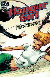 Cover Thumbnail for Danger Girl: Revolver (IDW, 2012 series) #3 [Cover A]