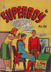 Cover Thumbnail for Superboy (K. G. Murray, 1949 series) #116