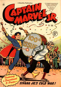 Cover Thumbnail for Captain Marvel Jr. (L. Miller & Son, 1950 series) #66 [6d]