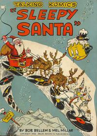 Cover Thumbnail for Talking Komics (Belda Record & Publ. Co., 1946 series) #[E - Sleepy Santa]