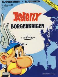 Cover Thumbnail for Asterix (Hjemmet / Egmont, 1969 series) #25 - Borgerkrigen [3. opplag]