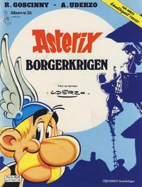 Cover Thumbnail for Asterix (Hjemmet / Egmont, 1969 series) #25 - Borgerkrigen [3. opplag Reutsendelse 147 34]