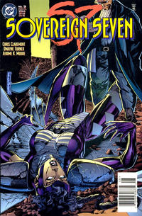 Cover Thumbnail for Sovereign Seven (DC, 1995 series) #2 [Newsstand Edition]