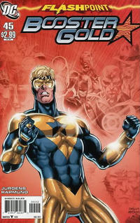 Cover Thumbnail for Booster Gold (DC, 2007 series) #45 [2nd Printing]