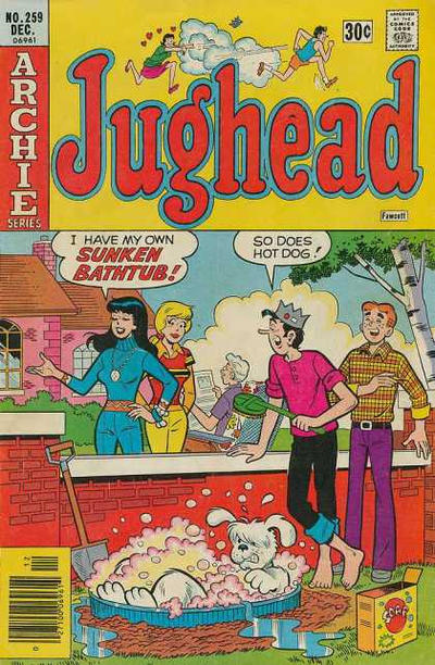 Cover for Jughead (Archie, 1965 series) #259