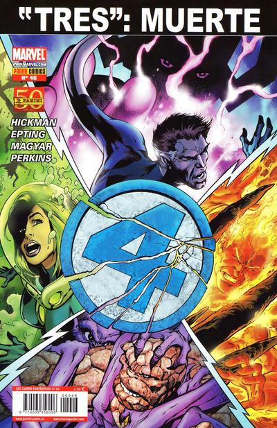 Cover for Los 4 Fantásticos (Panini España, 2008 series) #46