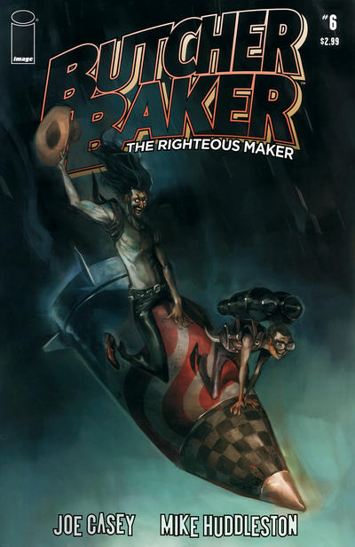 Cover for Butcher Baker, the Righteous Maker (Image, 2011 series) #6