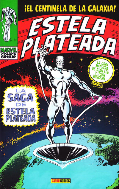 Cover for Marvel Gold: Estela Plateada de Stan Lee y John Buscema (Panini España, 2010 series) #[nn]