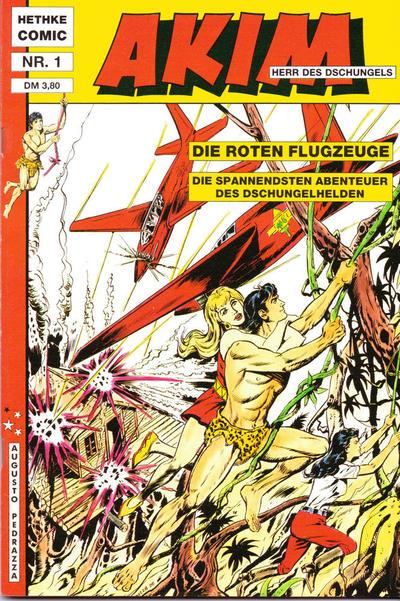 Cover for Akim Herr des Dschungels (Norbert Hethke Verlag, 1988 series) #1
