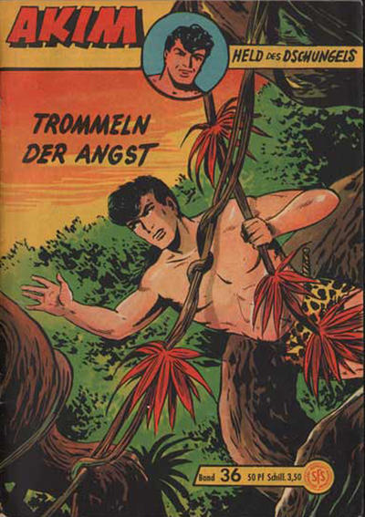 Cover for Akim Held des Dschungels (Lehning, 1958 series) #36