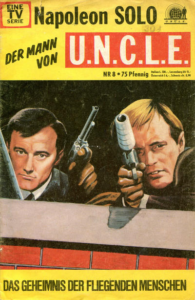Cover for Napoleon Solo - Der Mann von U.N.C.L.E. (Semic, 1967 series) #8