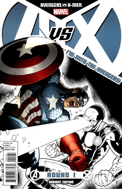 Cover for Avengers vs. X-Men (Marvel, 2012 series) #1 [6th Printing Variant]