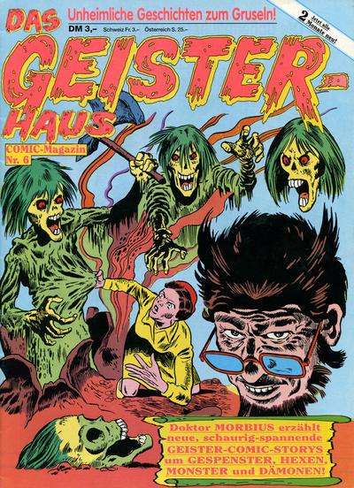 Cover for Das Geisterhaus (Condor, 1989 series) #6