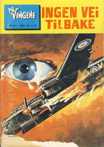 Cover for På Vingene (Serieforlaget / Se-Bladene / Stabenfeldt, 1963 series) #4/1965