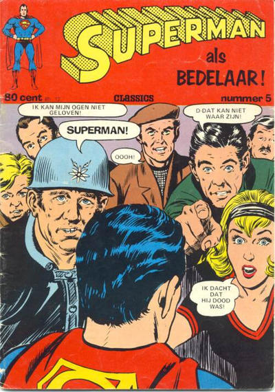 Cover for Superman Classics (Classics/Williams, 1971 series) #5