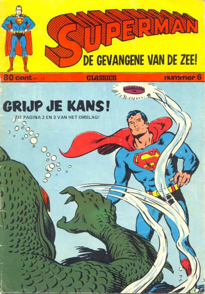 Cover for Superman Classics (Classics/Williams, 1971 series) #6