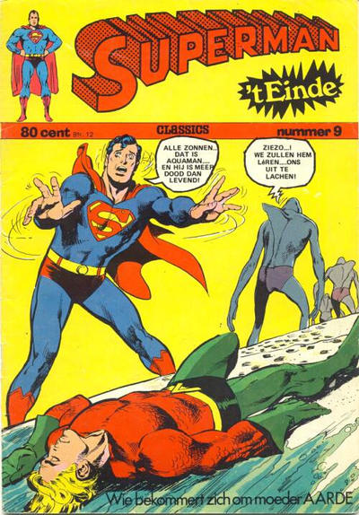 Cover for Superman Classics (Classics/Williams, 1971 series) #9