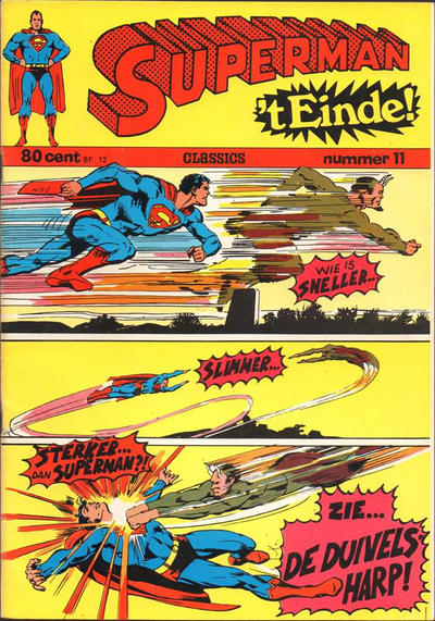 Cover for Superman Classics (Classics/Williams, 1971 series) #11